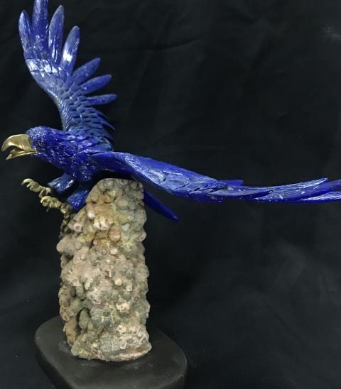 Lapis Lazuli Eagle