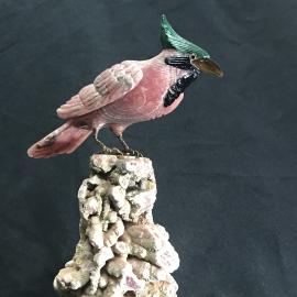 Rhodochrosite Bird