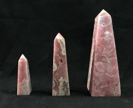 Rhodochrosite Obelisk